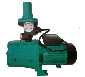 Our jet priming booster pump with automatic pump controller