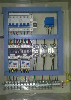Control on Power Wiring Diagram